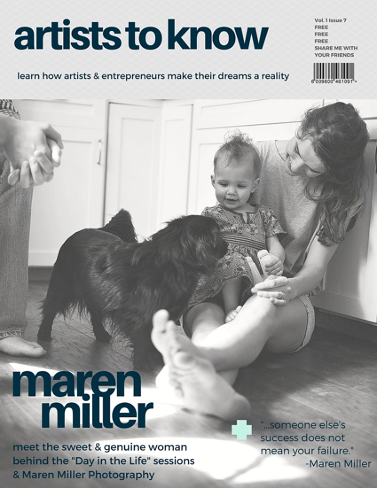 Maren Miller_Artists to Know_Fitzgerald | Maren Miller Photography |Day in the Life Photography